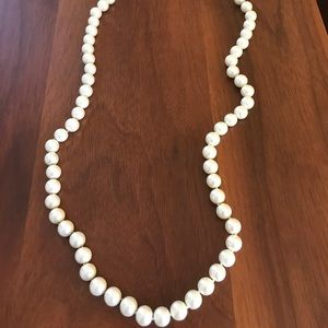 Jcrew Long Pearl Necklace